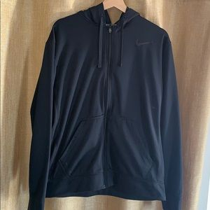Men's Nike black hoodie good condition